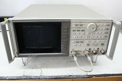 HP Agilent Keysight 8753C Network Analyzer, 30 kHz to 6 GHz opt 002 006
