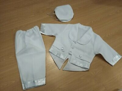 Baby boy christening baptism wedding outfit size 68 cm 6 months