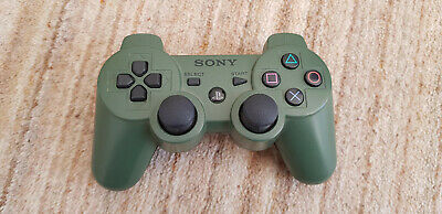 Jungle Green Official Sony Playstation 3 PS3 Dualshock Wireless Controller RARE