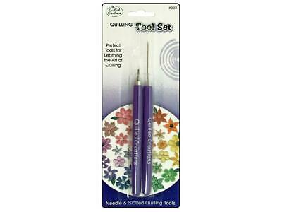 Quilled Creations Qul102  Tool Set Needle Slotted