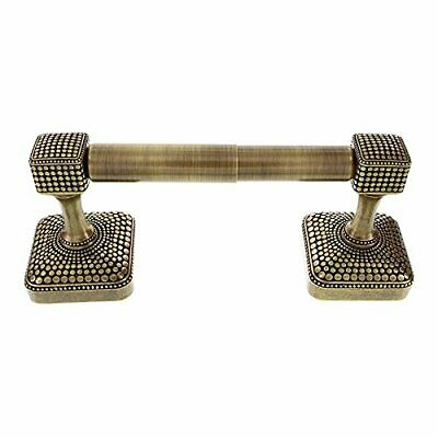 Vicenza Designs TP9005 Tiziano Spring Toilet Paper Holder, Antique Brass