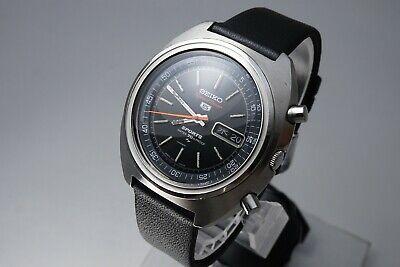 48c4c9e98 Vintage 1970 JAPAN SEIKO 70 SPORTS5 SPEED-TIMER 7017-6010 21Jewels  Automatic.