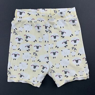 Girls,Boys size 2, Peter Alexander, soft stretchy pyjama shorts, sheep, GUC