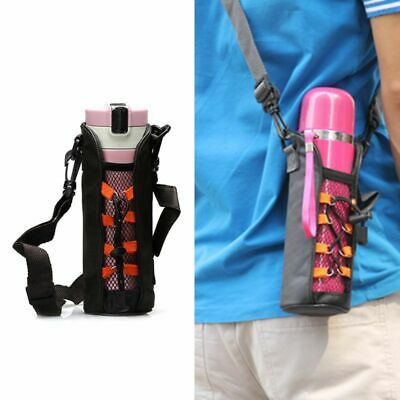 Water Bottle Carrier Pouch Heat Insulated Cover Bag Case Strap for 350ml/500ml