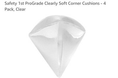 Safety 1st ProGrade Clearly Soft Corner Cushions - 4 Pack, Clear