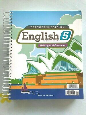BJU 5th Grade English: Writing and Grammar Teacher's Edition