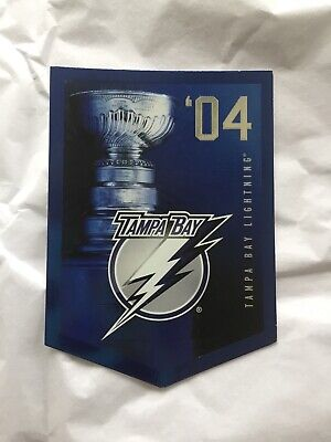 2011-12 Panini Molson Coors Stanley Cup Champions #2004 Tampa Bay Lightning