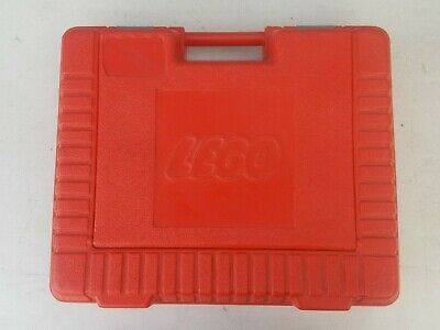 Vintage LEGO Red Molded Heavy Plastic Storage Container 1985