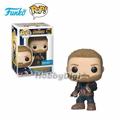 Funko IE Pop! Marvel 299: Avengers Infinity War - CaptAmercia w/Shield
