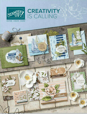 Stampin Up Annual Catalogue and Ideas book | 2019-2020 | Current