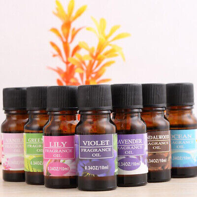 100% Pure Natural Plant Essential Oils 10ml Therapeutic Grade Aromatherapy Hot