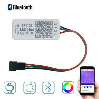 LED Bluetooth Controller iOS Android Wireless Remote Control DC 5V~12V WS2812