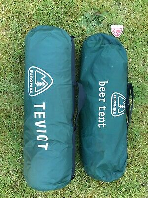 2 Eurohike Teviot And EDEN 2 Man Tents Unused