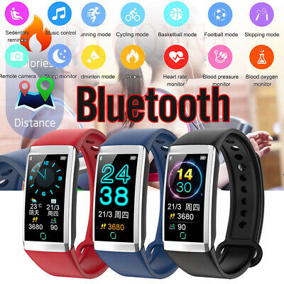 Smart Watch Fitness Activity Tracker Heart Rate Blood Pressure Monitor Wristband