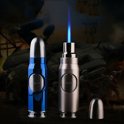 JOBON Cigar Lighter High Quality Metal Windproof Refillable Butane Gas Lighters