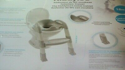 Thermobaby 2172538ALL Kiddyloo Toiletten-Trainer, weiß/grau, AUSSTELL.*