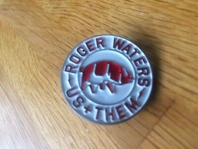 Roger Waters Us + Them Tour Pin Badge,Heavy Metal Alchemy Rock Pink Floyd