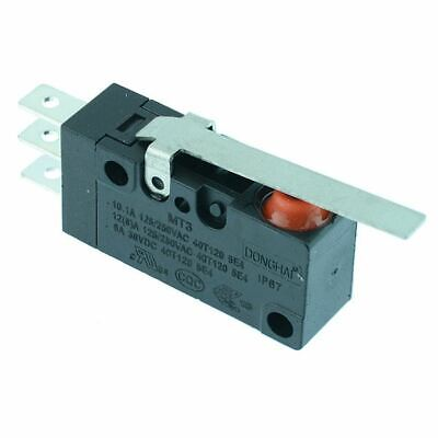30mm Lever Waterproof Microswitch SPDT 10A IP67 Micro Switch