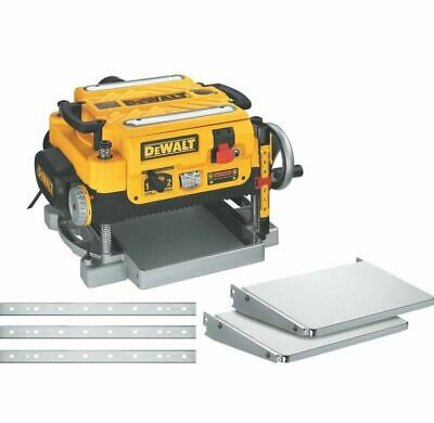 DeWALT DW735X 13-Inch Two-Speed Woodworking Thickness Planer Tables Knives NEW