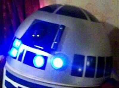 Star Wars Life Size R2D2 SUPER SIZE PROP PLOT! AWESOME AWESOME! :)