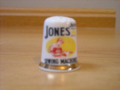 Jones Sewing Machines Advert Thimble