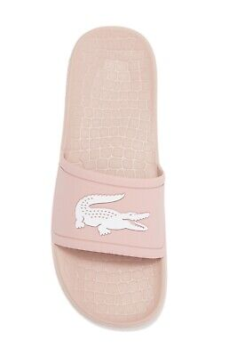 Lacoste Adults Fraisier 318 Sliders Pool Shoes Pale Pink 7-37cfa0060208