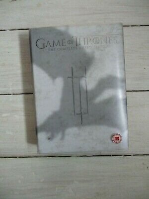 VGC Game Of Thrones The Complete Third Season DVD Box Set (Watched Once) PAL