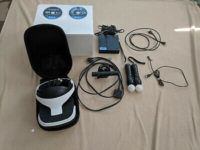 PlayStation VR bundle with Batman Arkham VR and carrying case