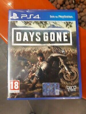 days gone ps4 playstation 4 come nuovo italiano