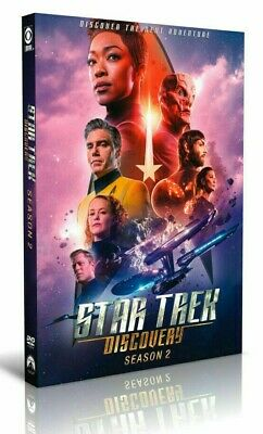 Star Trek Discovery Season 2 Complete Second TV Series DVD Box Set Collection