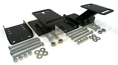 (Pack of 2) Spare Tire Wheel Carrier Kit with Hardware Angled Bracket for Camper