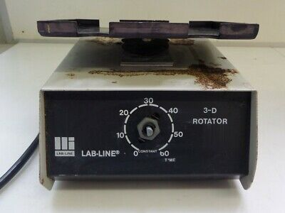 LabLine 4630 3D Rotator Working Missing Knob AS IS