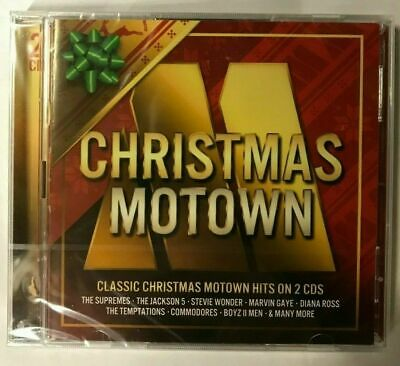 Christmas Motown: Classic Motown Hits on 2 CDs NEW & SEALED BW6