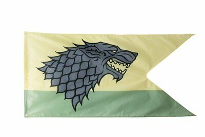 """Game of Thrones House Sigil Outdoor Flag 30"""" x 60"""" House Stark"""