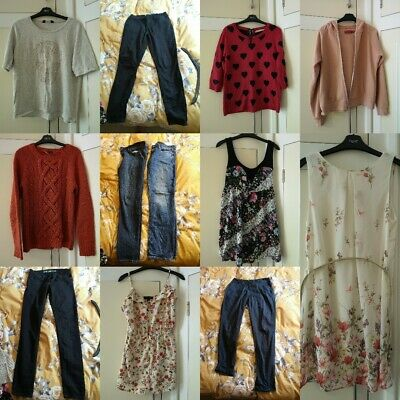 Lovely Bundle Of Ladies Womens Girls Clothes Size 10. Gap, Next, New look Etc