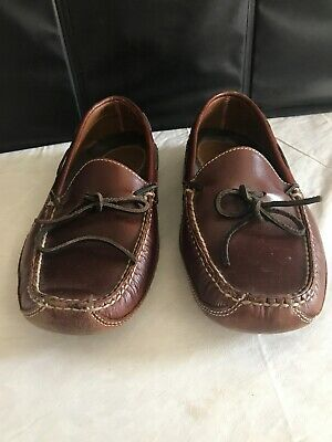 4a8b76b0dba85 LL Bean Men's Bison Double-Sole Slippers, Leather-Lined Size 9 d Raisin
