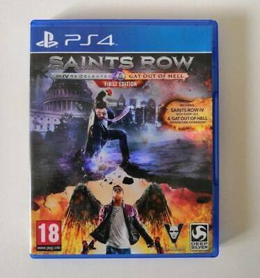 Saints Row IV Re-Elected PS4 SAME DAY Dispatch [Order By 4pm]
