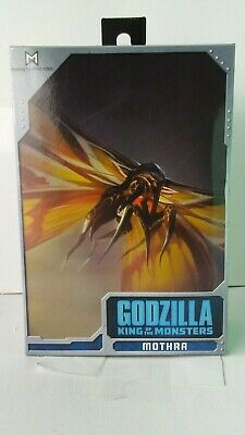 Neca Godzilla King Of The Monsters Mothra Action Figure Damaged Package