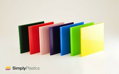 3mm Perspex® Coloured Acrylic Plastic Sheet Panel / Cut to Size