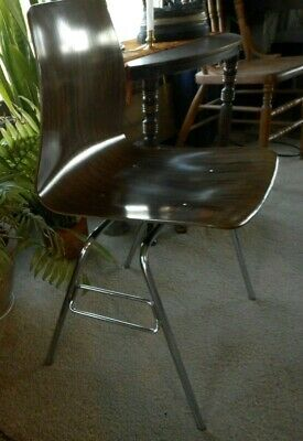 Pagholz ? Danish Style mid century modern chair West Germany Molded Plywood