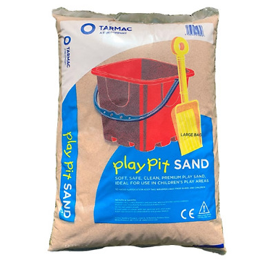 Play Pit Sand 25kg Bag Sandpit Clean Childrens Non Toxic Safe Kids By Tarmac