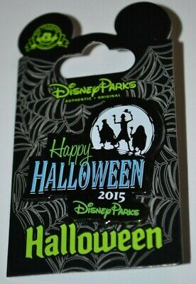 Disney Parks Haunted Mansion Hitchhiking Ghosts Happy Halloween Pin NOC