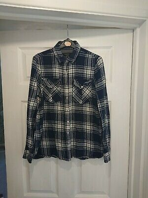 Womens Checked Shirt Size 12 Primark