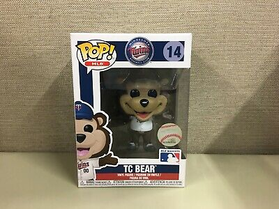 Funko Pop! MLB Baseball: Minnesota Twins - Twin Cities TC Bear #14 New In Box