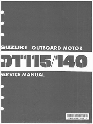 93-00 SUZUKI DT75 DT85 2-Stroke Outboard Motor Service Repair Manual