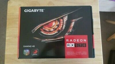 USED GIGABYTE RADEON™ RX 570 Gaming 4G - Excellent Condition