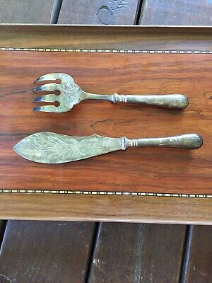Antique Christofle Fish Serving Set