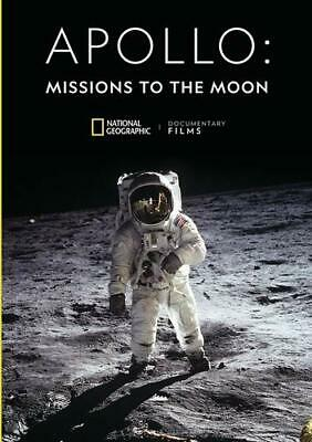 Apollo: Missions To The Moon - 50th Anniversary Special And Moonshot (DVD, 2019)