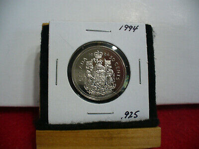 1994  Canada Half Dollar    50 Cent Piece  Sterling .925 Silver Proof Coin