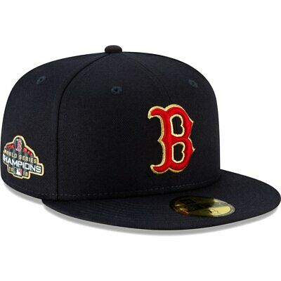 New Era Boston Red Sox Navy 2019 Gold Program 59FIFTY On-Field Fitted Hat